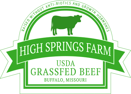 Grass Fed USDA Beef from High Springs Farm